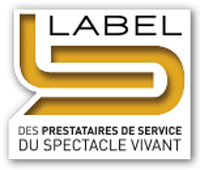 logo label spectacle vivant